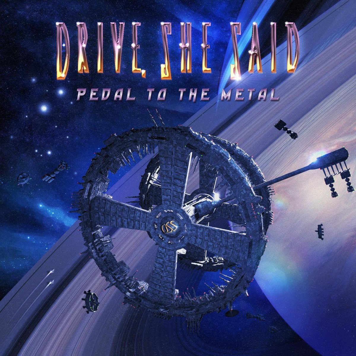 "DRIVE, SHE SAID: ""Pedal to the Metal"" (2016)"